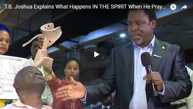 T.B. Joshua Explains What Happens IN THE SPIRIT When He Prays!!!
