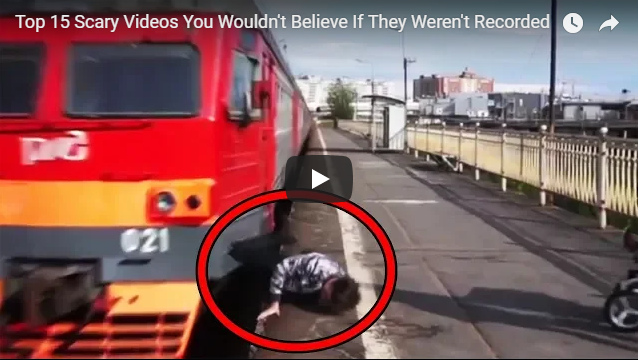 Top 15 Scary Videos You Wouldn't Believe If They Weren't Recorded