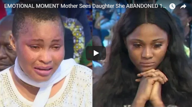 EMOTIONAL MOMENT Mother Sees Daughter She ABANDONED 18 Years Ago…