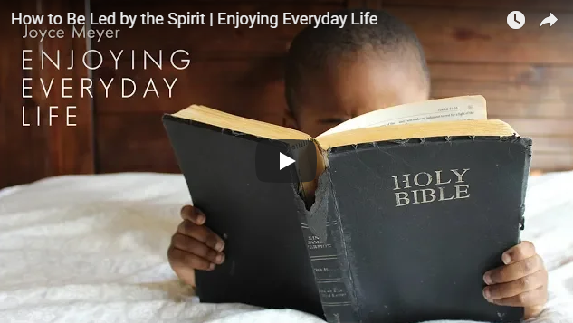 How to Be Led by the Spirit | Enjoying Everyday Life