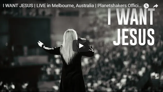 I WANT JESUS | LIVE in Melbourne, Australia | Planetshakers Official Music Video