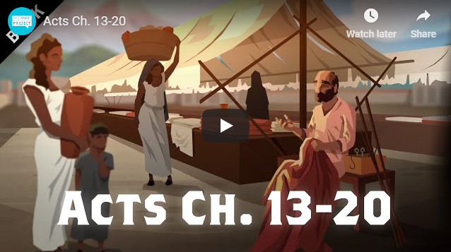 Acts Ch. 13-20
