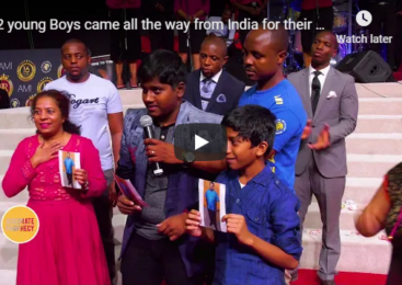 2 young Boys came all the way from India for their father's healing – Prophecy with Alph LUKAU