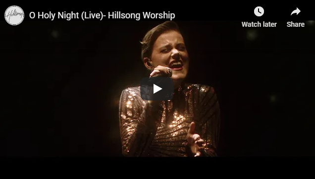 O Holy Night (Live)- Hillsong Worship