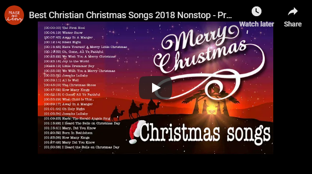 Best Christian Christmas Songs 2018 Nonstop – Praise and Worship songs 2018