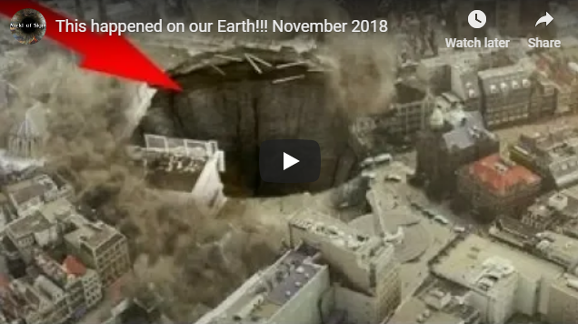 This happened on our Earth!!! November 2018