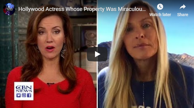 Hollywood Actress Whose Property Was Miraculously Saved from Deadly Fire Says God is Bringing Reviva