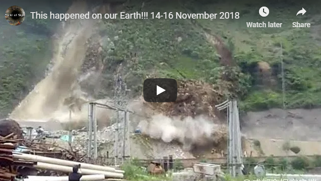 This happened on our Earth!!! 14-16 November 2018