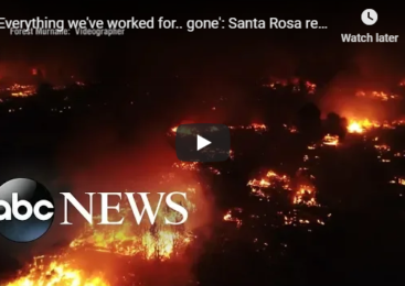 'Everything we've worked for.. gone': Santa Rosa remembers fire one year later