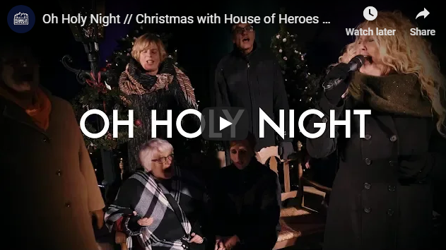 Oh Holy Night // Christmas with House of Heroes Worship & the GMF Choir