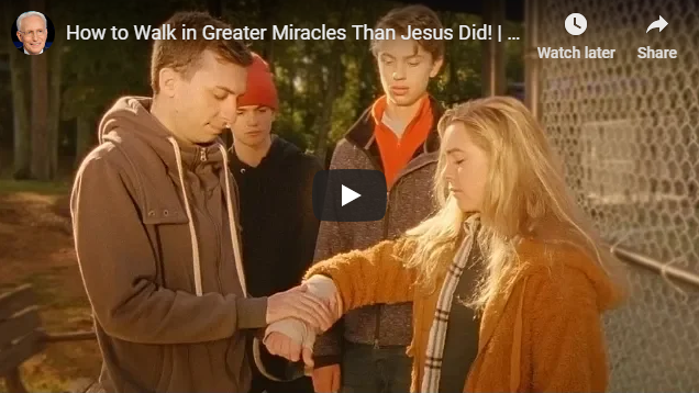 How to Walk in Greater Miracles Than Jesus Did!   Andrea di Meglio