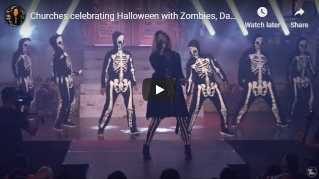 Churches celebrating Halloween with Zombies, Dancing Skeletons, Haunted Hayrides & Witches: Chris…