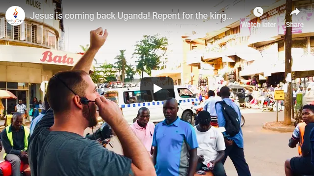 Jesus is coming back Uganda! Repent for the kingdom of God is at hand.