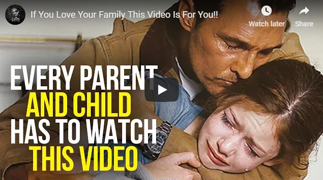 If You Love Your Family This Video Is For You!!