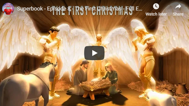 Superbook – Episode 8 – The First Christmas – Full Episode (Official HD Version)