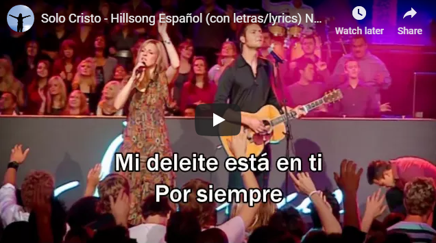 Solo Cristo – Hillsong Español (con letras/lyrics) None But Jesus (Best Worship Song)