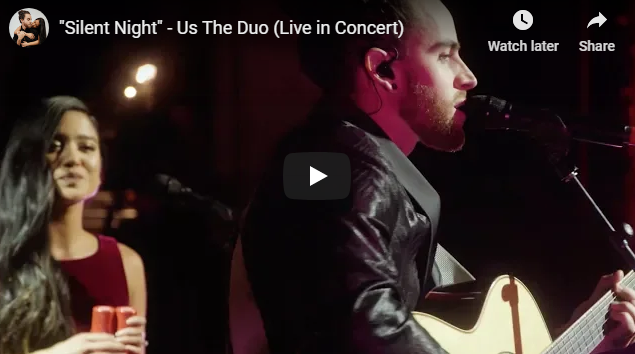 """Silent Night"" – Us The Duo (Live in Concert)"