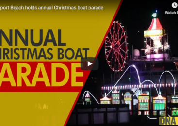 Newport Beach holds annual Christmas boat parade
