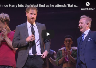 Prince Harry hits the West End as he attends 'Bat out of Hell' performance gala
