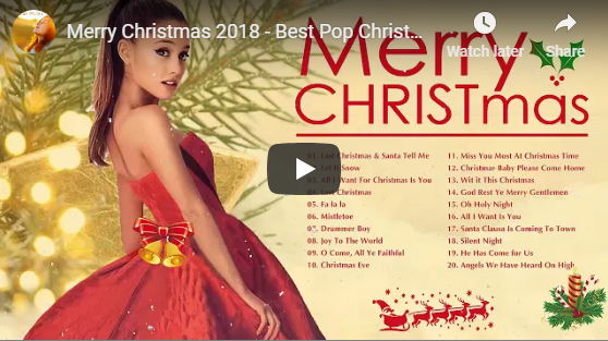 Merry Christmas 2018 – Best Pop Christmas Songs 2018