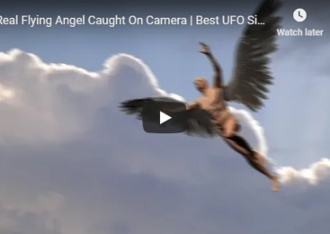Real Flying Angel Caught On Camera | Best UFO Sightings 2018