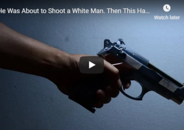 He Was About to Shoot a White Man. Then This Happens…