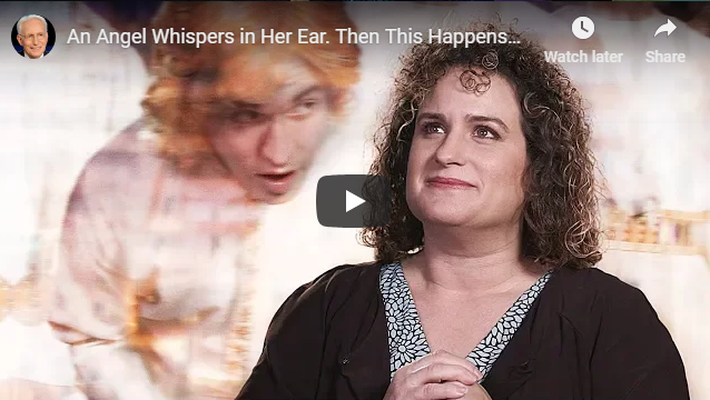 An Angel Whispers in Her Ear. Then This Happens…