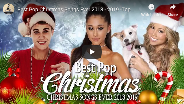 Best Pop Christmas Songs Ever 2018 – 2019 -Top 100 Pop Songs Merry Christmas Playlist 2019