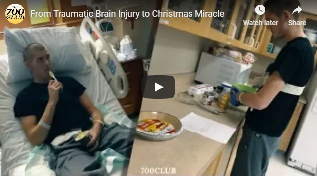 From Traumatic Brain Injury to Christmas Miracle