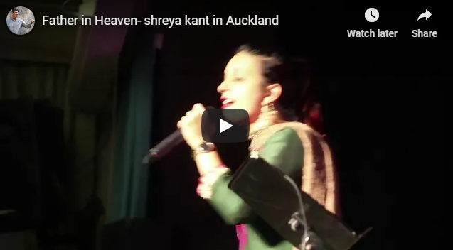 Father in Heaven- shreya kant in Auckland