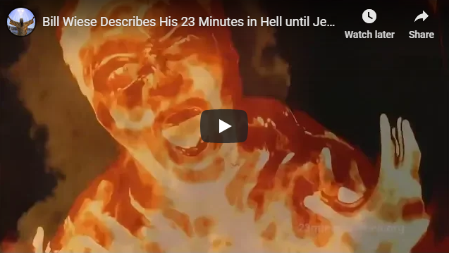 Bill Wiese Describes His 23 Minutes in Hell until Jesus GOD Rescued him – Only Jesus Saves