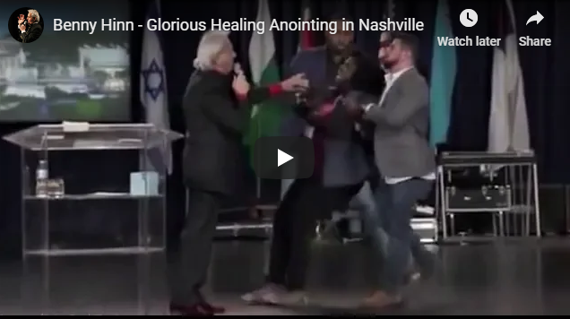 Benny Hinn – Glorious Healing Anointing in Nashville