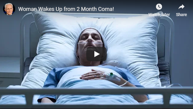 Woman Wakes Up from 2 Month Coma!