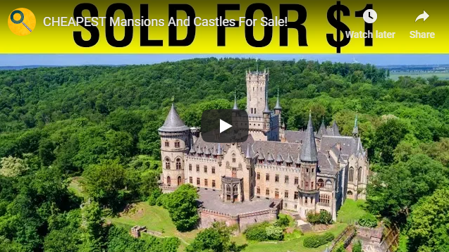 CHEAPEST Mansions And Castles For Sale!