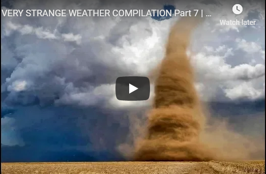 VERY STRANGE WEATHER COMPILATION | January 2019 | End Times Signs