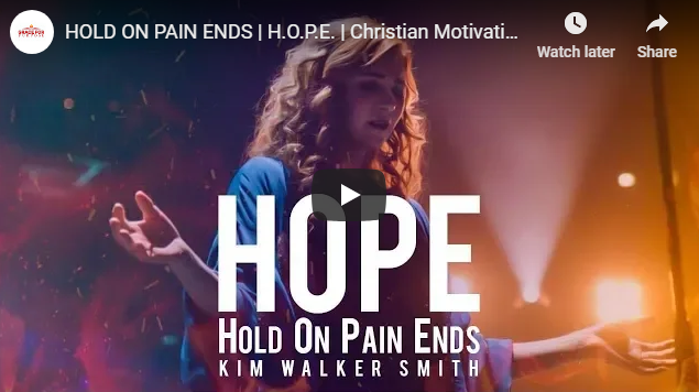 HOLD ON PAIN ENDS | H.O.P.E. | Christian Motivation