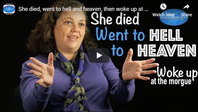 She died, went to hell and heaven, then woke up at the morgue – Christian Testimony