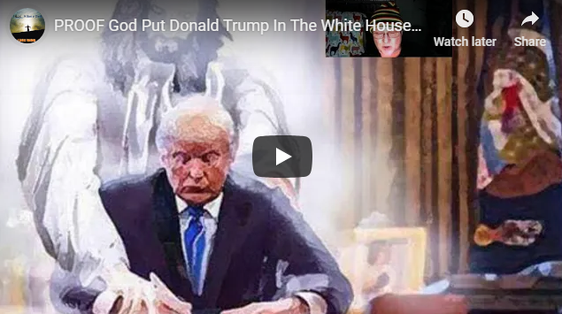 PROOF God Put Donald Trump In The White House & He's The ONLY One Keeping Him There Now!