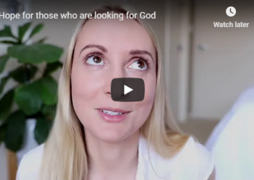 Hope for those who are looking for God