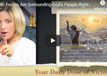 Angelic Forces Are Surrounding God's People Right Now!