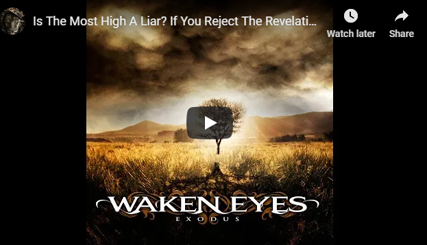 Is The Most High A Liar? If You Reject The Revelation Of This Land Being Our Land,then TMH is a liar