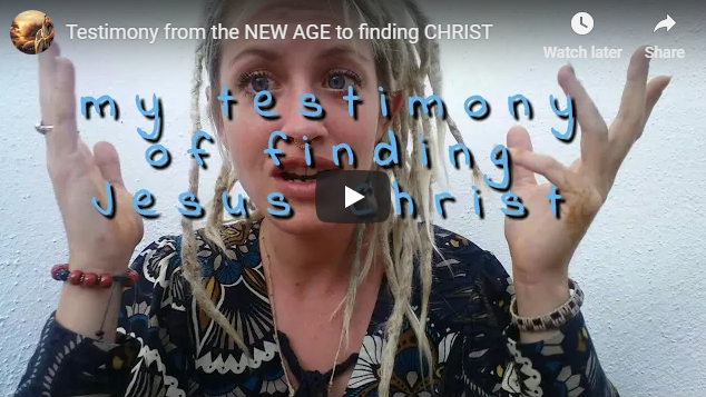 Testimony from the NEW AGE to finding CHRIST