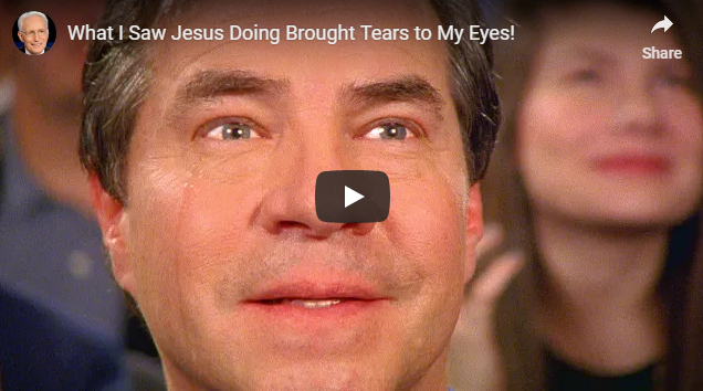 What I Saw Jesus Doing Brought Tears to My Eyes!