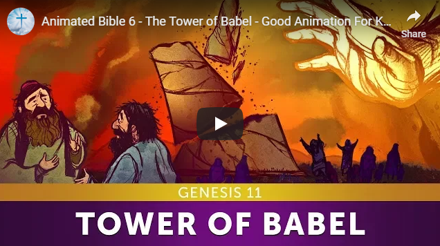 Animated Bible 6 – The Tower of Babel – Good Animation For Kids