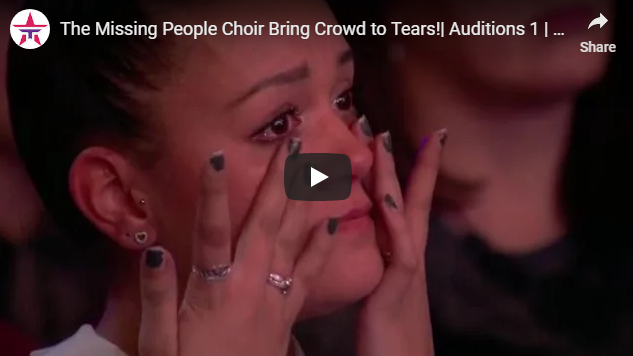 The Missing People Choir Bring Crowd to Tears!  Auditions 1   Britain's Got Talent 2017