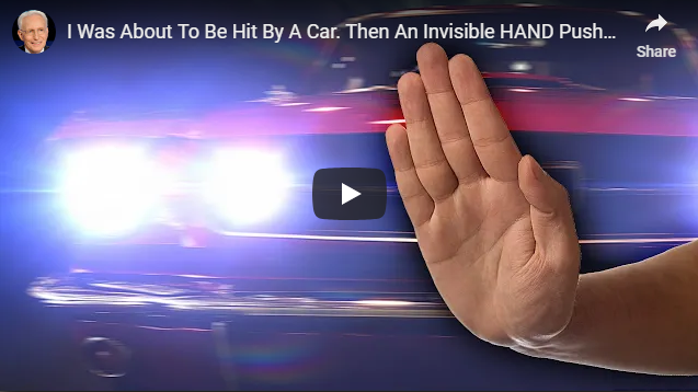 I Was About To Be Hit By A Car. Then An Invisible HAND Pushed Me…