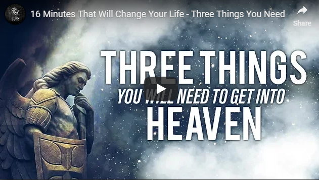 16 Minutes That Will Change Your Life – Three Things You Need