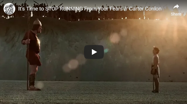 It's Time to STOP RUNNING From Your Fears // Carter Conlon