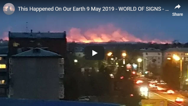 This Happened On Our Earth 9 May 2019 – WORLD OF SIGNS – SEVERE EXTREME WEATHER EUROPE