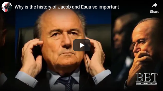 Why is the history of Jacob and Esua so important